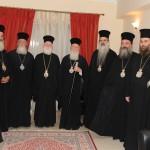 Με την Α.Θ.Π. τον Οικουμενικό Πατριάρχη κ. κ. ΒΑΡΘΟΛΟΜΑΙΟ κατά την επίσκεψη του στην Κρήτη το έτος 2009